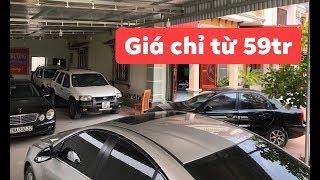 Ô tô cũ giá chỉ từ 59tr ☎️ Zalo 0367312345