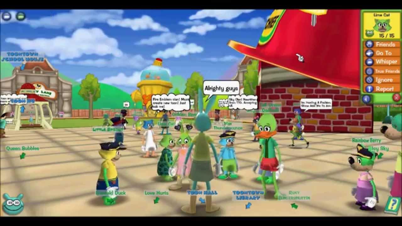 Toontown Rewritten Garden Clan Rewritten Youtube