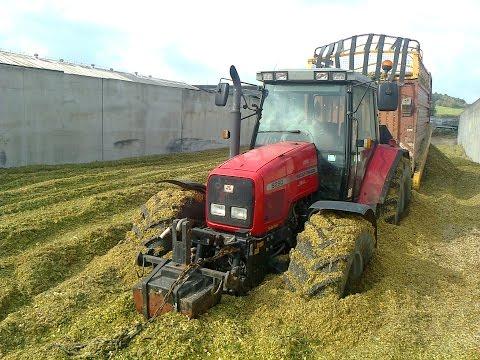 Farm machinery - stuck, crash, accidents