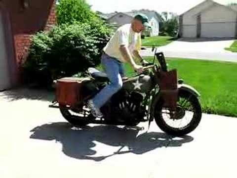1942 harley davidson wla youtube. Black Bedroom Furniture Sets. Home Design Ideas