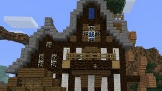 Repeat youtube video Minecraft - Shadow's New House! - CrewCraft #34