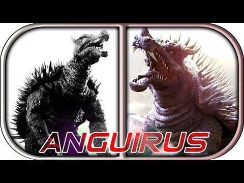 EVOLUTION of ANGUIRUS in Movies & TV 1955-2018 Godzilla ing of the monsters anguirus scene 2019