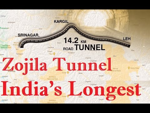 Download First Blast For Zojila Tunnel |  Asia's Longest Bidirectional Tunne | India's Longest | 14 Km Long