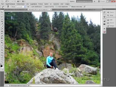 Фишки фотошопа Убираем лишнее с фото фотошоп это просто