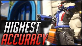 Overwatch - How to PREVENT WEAPON SPREAD with Soldier 76