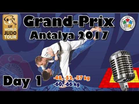 Judo Grand-Prix Antalya 2017: Day 1