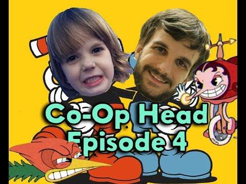 [ Cuphead ] Co-op Head episode 4 - Treetop Trouble and Hilda Berg!!