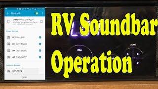 How To Operate Your RV Soundbar