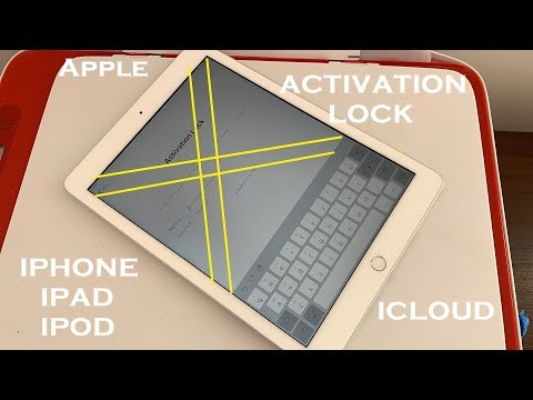 iCloud Unlock Activation Lock iPhone/iPad Mini,iPad Pro,iPad 2,iPad Air, iPad Air 2 Any Generation