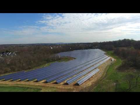 Solar Array at Elizabethtown College