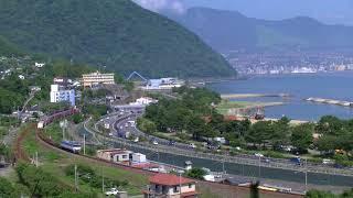 日豊本線 4075列車(EF81 451)