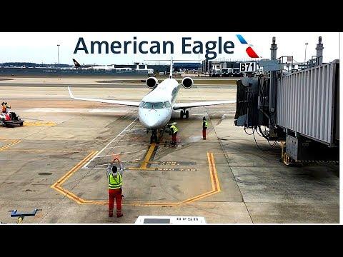 American Eagle | CRJ-900 | Washington Dulles ✈ Charlotte Douglas, NC | Economy |