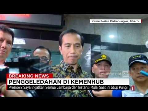 Jokowi Marah : Stop Pungli! - OTT Kemenhub