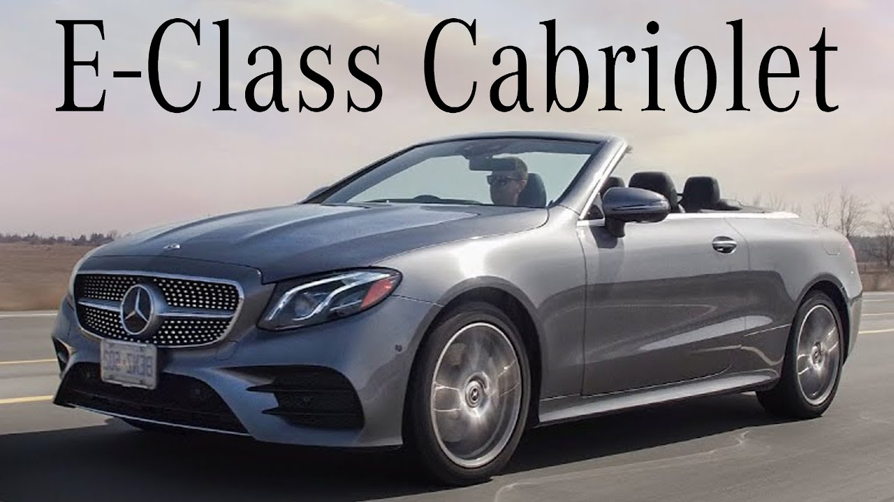 2018 Mercedes E400 Cabriolet Luxury Drop Top