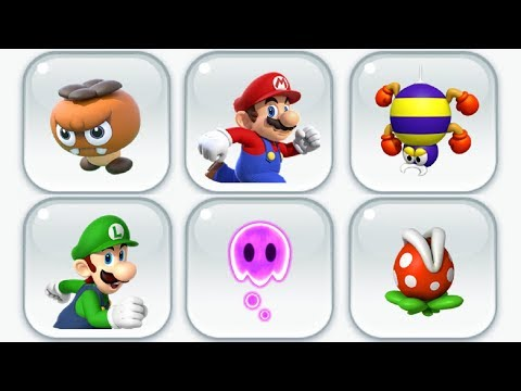 Super Mario Run - World Star (All Pink Coins) - All 9 New Levels