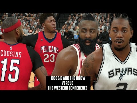 Demarcus Cousins & Anthony Davis Vs. The Western Conference, How Scary Are They?