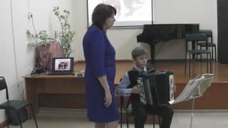 Открытый урок для преподавателей народных инструментов