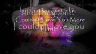 Watch Edwin McCain Couldnt Love You More video