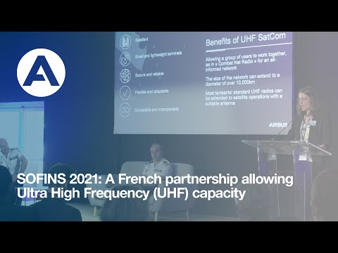 SOFINS 2021: A French partnership allowing Ultra High Frequency (UHF) capacity