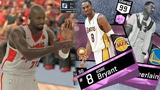 NBA 2K17 My Team - All Pink Diamond Lineup! PS4 Pro 4K