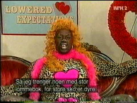 MadTv - Lowered expectations with Denise Rodman (Shaquille O'Neal)