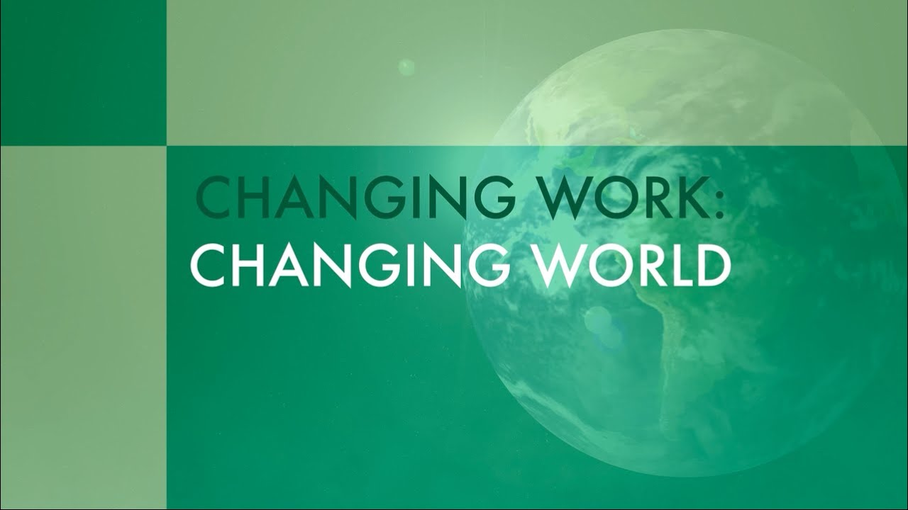 the changing world of work and Home resource pages the changing nature of organizations, work, and workplace the changing nature of organizations, work, and workplace  in today's world, the structure, content, and process of work have changed work is now:  the changing nature of work:.