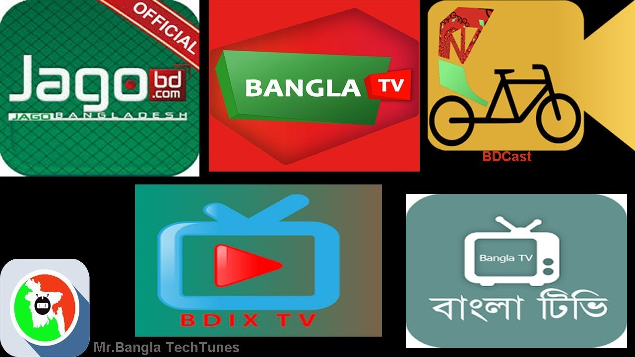 Top5 TV Apps for Bangladesh