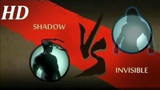 Shadow fight 2 SHADOW vs. INVISIBLE fight in android