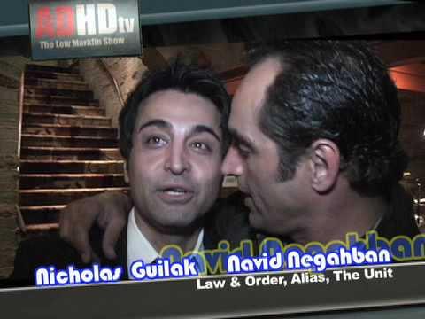Navid Negahban has an ADHD moment with Nicholas Guilak