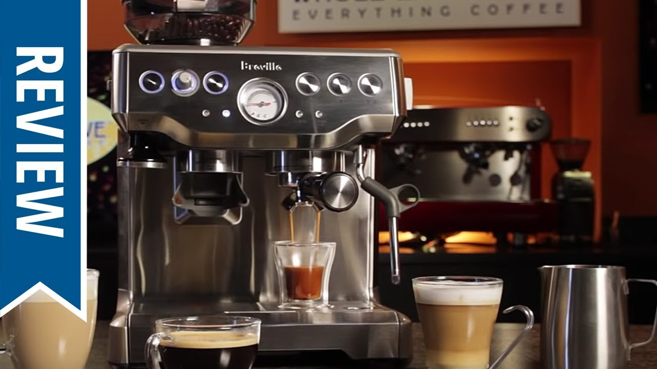 Breville Barista Express Bes870xl Semi Automatic Espresso Machine