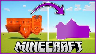 I Built In Minecraft Upside Down Then Flipped It With Worldedit!!