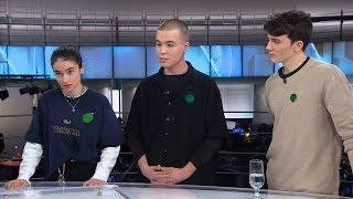 Trois jeunes expliquent la grève pour le climat