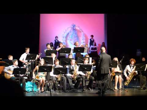 Bristow High School Jazz A Winter Concert 2013