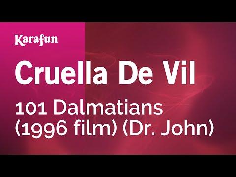 Karaoke Cruella De Vil - Dr. John *