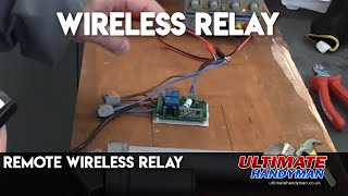 Remote wireless relay