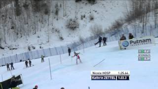 Kathrin Zettel - Third - Nature Valley Aspen Winternational - Slalom