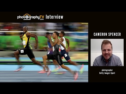 How to Capture the Most Iconic Photo of Usain Bolt at the Rio Olympics - Cameron Spencer Interview