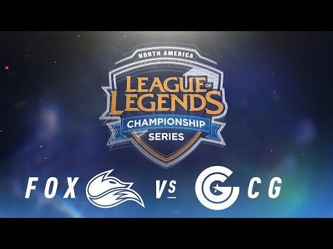 FOX vs. CG - Week 1 Day 2   NA LCS Spring Split   Echo Fox vs. Clutch Gaming (2018)