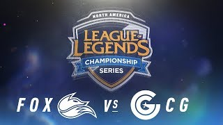 Video FOX vs. CG - Week 1 Day 2 | NA LCS Spring Split | Echo Fox vs. Clutch Gaming (2018) download MP3, 3GP, MP4, WEBM, AVI, FLV Juni 2018