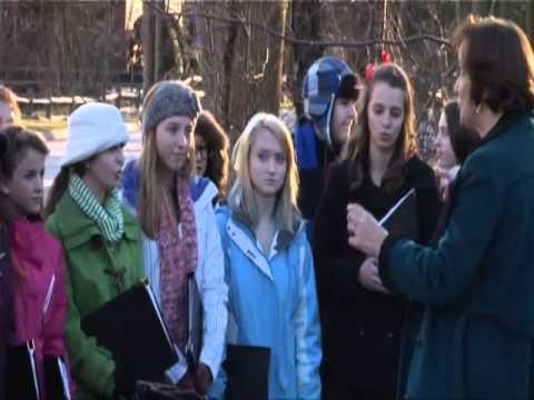 Bedford, NH Memorial Tree Lighting: Featuring the Bedford High School Chorus (12/13/12)