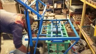 видео Станок для производства шлакоблоков