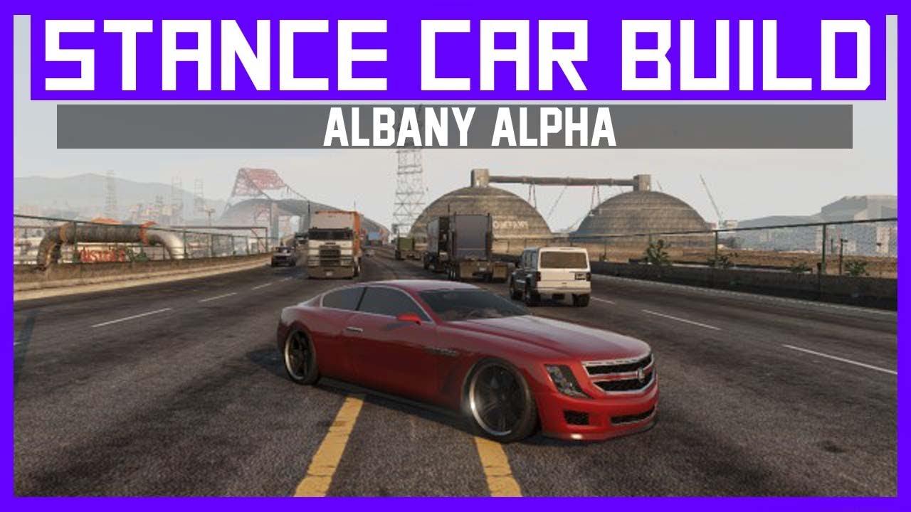 gta 5 stance custom car build drive albany alpha cadillac elr youtube. Black Bedroom Furniture Sets. Home Design Ideas