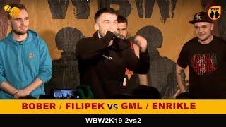 BOBER/FILIPEK vs GML/ENRIKLE  WBW 2019  2vs2 (1/8) Freestyle Battle
