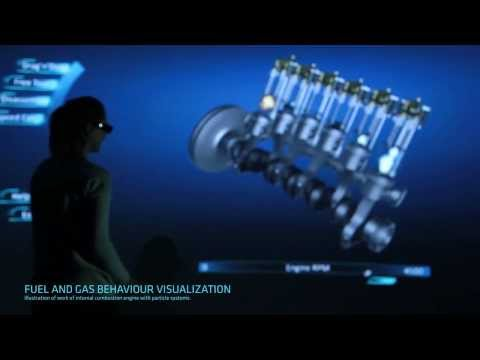 Paccar Engine - interactive 3D (i3D S.A.)