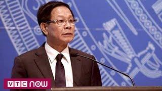 Khởi tố cựu Tổng cục trưởng Tổng cục Cảnh sát Phan Văn Vĩnh | VTC1