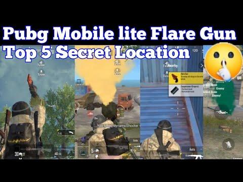 Pubg Lite Top 5 Flare Gun Location   How To Get Pubg Mobile Lite Flare Gun   Flare Gun Secret Locati