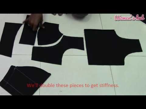 Double Katori Blouse - 3. Cutting The Cloth