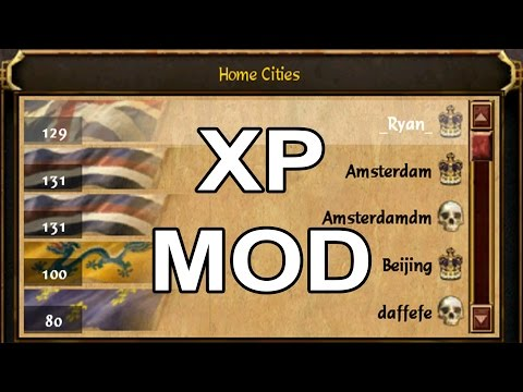 AOE3: Instantly Level Up Your Multiplayer Homecities: XP Mod Guide