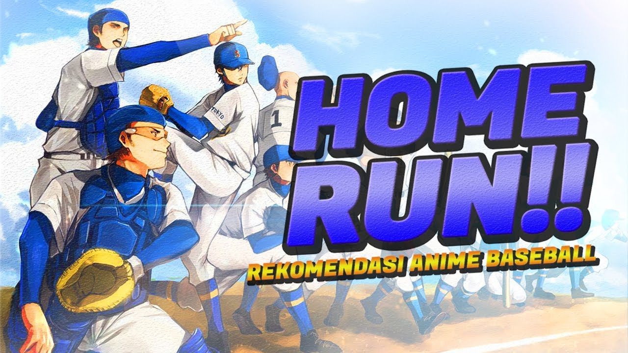 Top 10 Anime Sport Bertemakan Baseball [BEST ANIME]