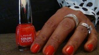Review - Lakme True Wear Color Crush